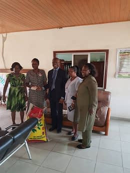 LMVF donates to the Hospice and Palliative Centre in UCH
